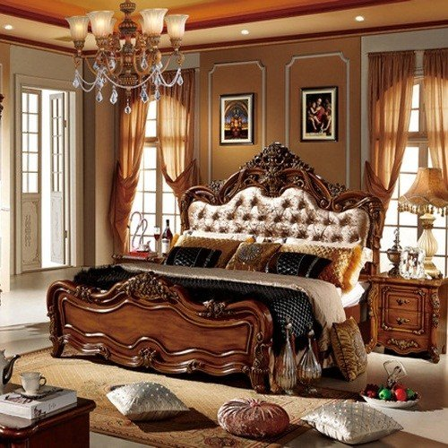 Best American Country Style Home Furniture Bedroom Queen King With Pictures