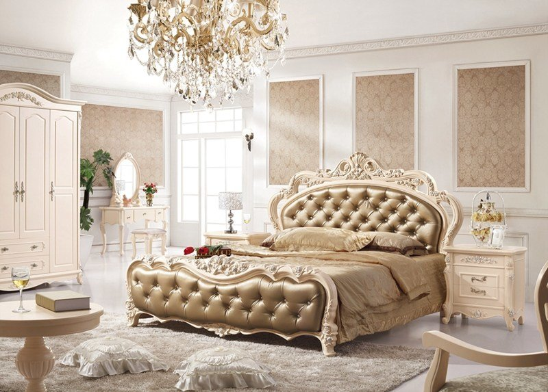 Best Antique Style French Furniture Elegant Bedroom Sets Py With Pictures