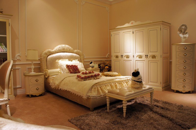 Best Girls Princess Bedroom Furniture Of Luxury Bisini Bed With Pictures