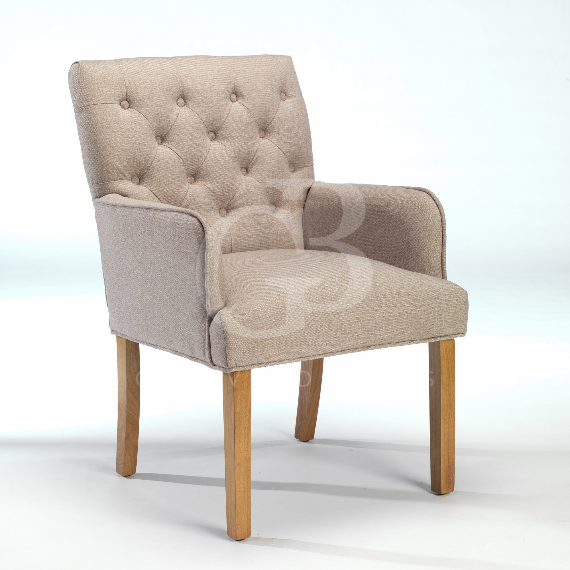 Best New Upholstered Buttoned Back Dining Chair Club Chair Bedroom Chair Egb278 P With Pictures