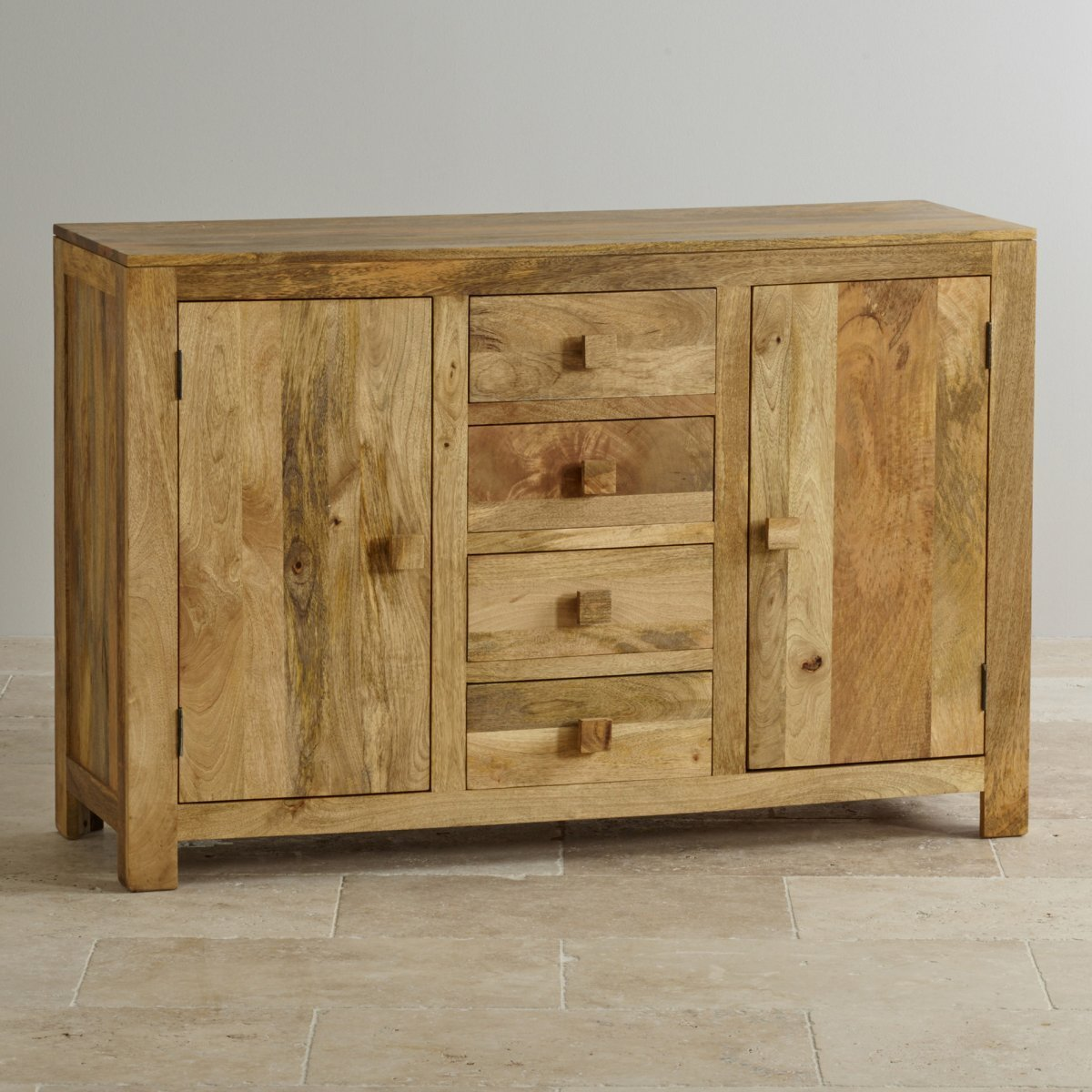 Best Mantis Light Large Sideboard In Solid Mango Oak Furniture With Pictures