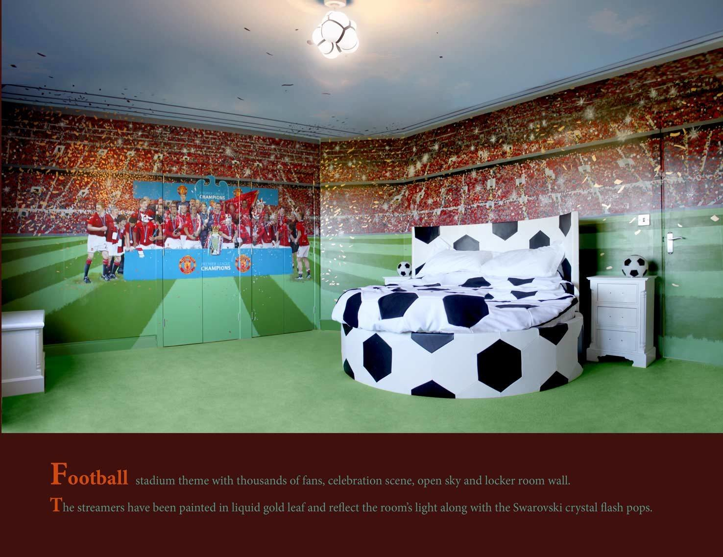 Best Football Themed Rooms Soccer Bedroom And Soccer On Pinterest With Pictures