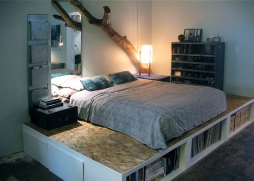 Best Bad Feng Shui Platform Bed Overload Open Spaces Feng Shui With Pictures