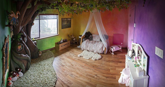 Best Dad Ever Builds A Tree In His Daughter S Bedroom With Pictures