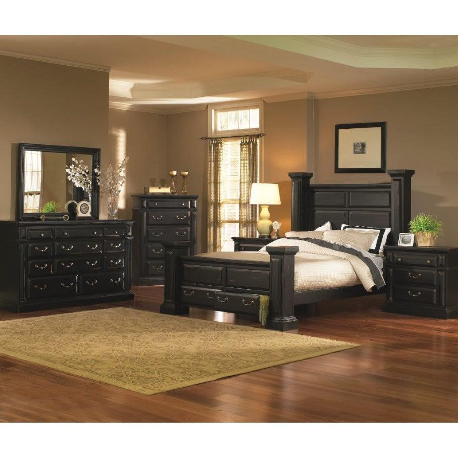 Best Torreon Black 6 Piece Queen Bedroom Set With Pictures