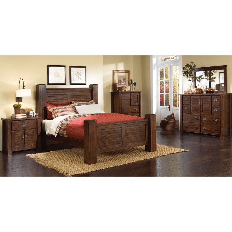 Best Trestlewood 6 Piece Cal King Bedroom Set With Pictures