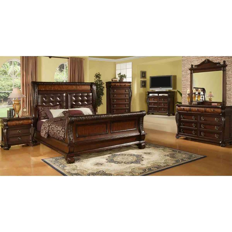 Best Highland 6 Piece King Bedroom Set With Pictures