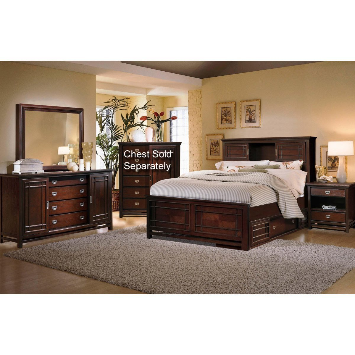 Best Palasides Rivers Edge 7 Piece Queen Bedroom Set Rc With Pictures