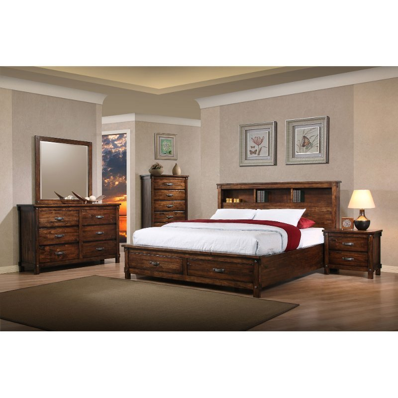 Best Jessie 6 Piece King Bedroom Set Rcwilley Image1 800 Jpg With Pictures