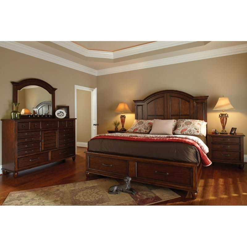 Best Carolina Preserves 6 Piece Cal King Bedroom Set With Pictures