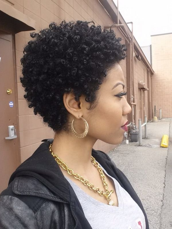 Free 24 Cute Curly And Natural Short Hairstyles For Black Women Styles Weekly Wallpaper