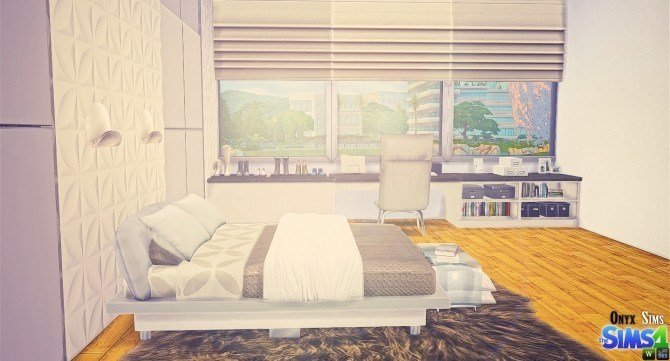 Best San Diego Bedroom At Onyx Sims » Sims 4 Updates With Pictures