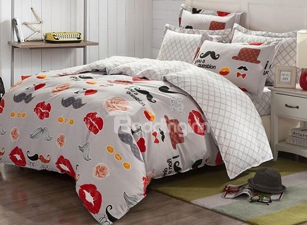 Best Mustache Bedding Tktb With Pictures