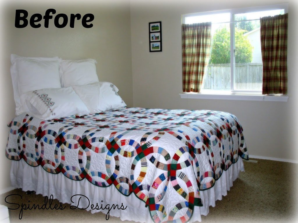Best Paint Master Bedroom Master Bedroom Makeover Spindles With Pictures