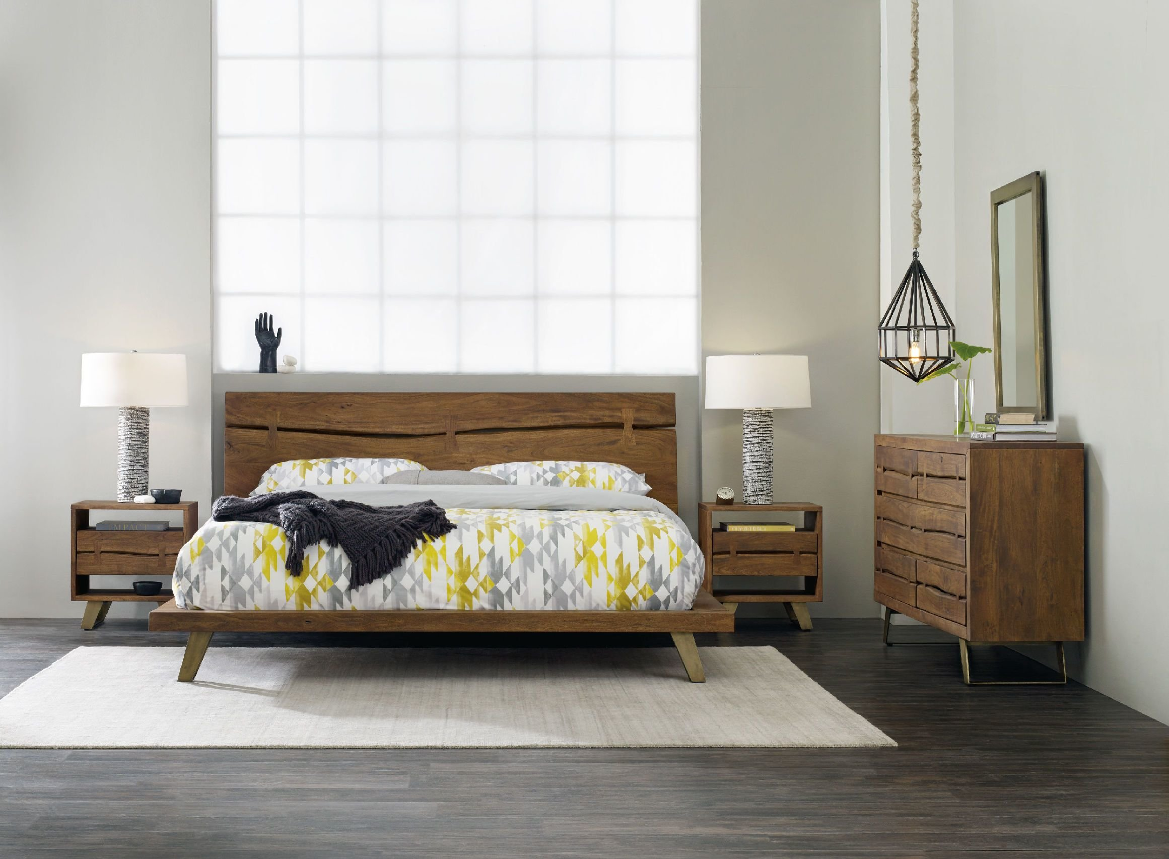 Best H**K*R Furniture Bedroom Transcend King Platform Bed 7000 With Pictures