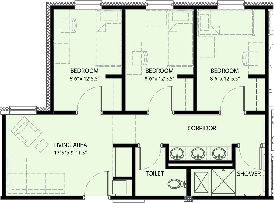 Best Pricing And Floor Plan University Commons University Housing Ut Dallas With Pictures