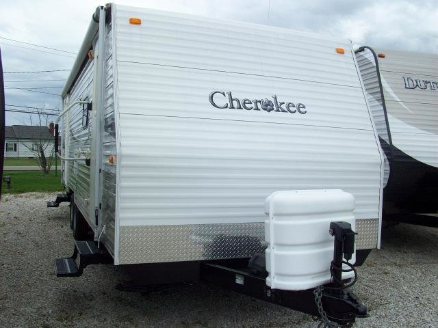 Best Used 2007 Cherokee 27Sls Rear Bedroom Travel Trailer With Pictures