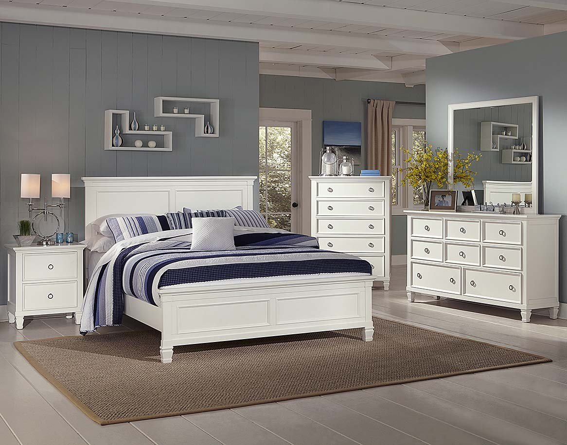 Best Tamarack Timber Bedroom Suite In White With Pictures