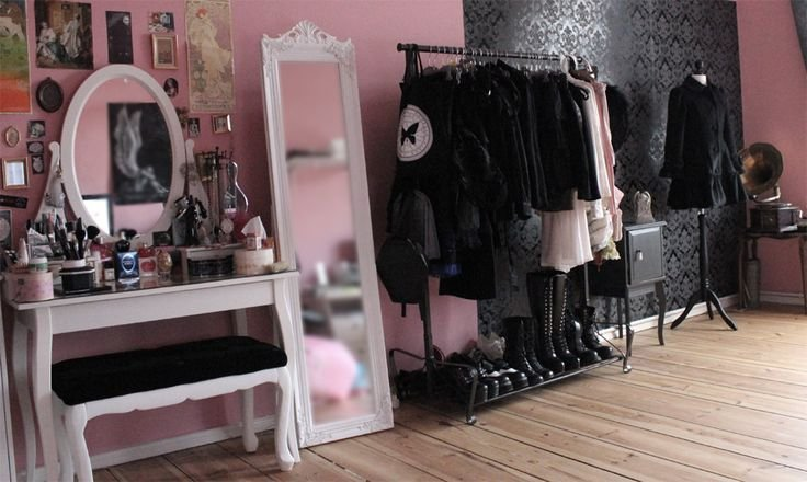 Best Pastel Goth Room More Http Spotpopfashion Com J61V Bedroom Design Ideas With Pictures