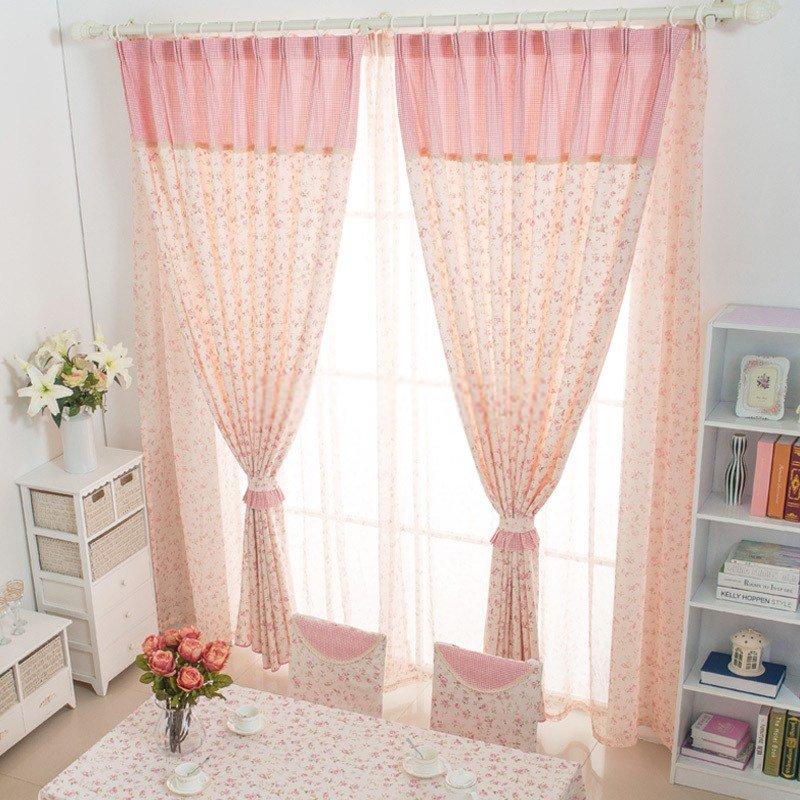 Best Flower Patterns Home Suitable Country Bedroom Curtains With Pictures