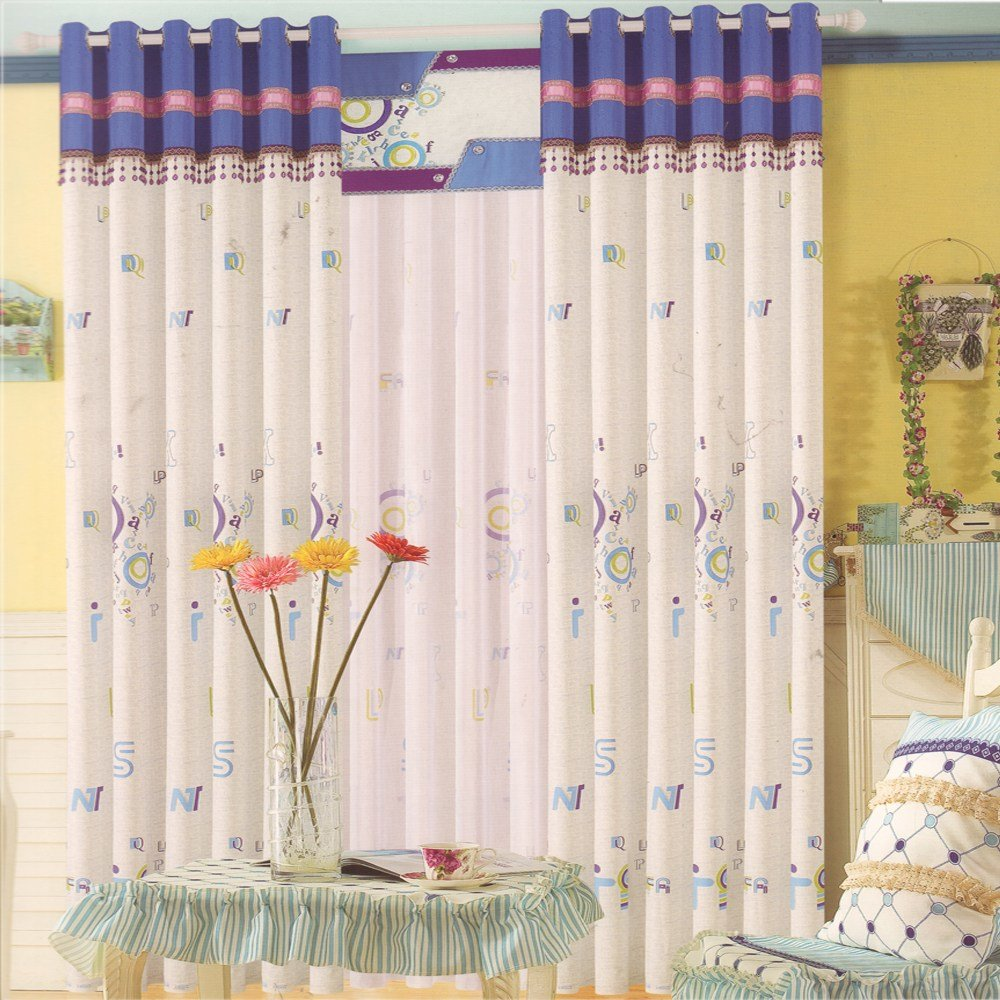 Best Cotton Fabric Baby Room Curtains Ideas Kids Curtain With Pictures