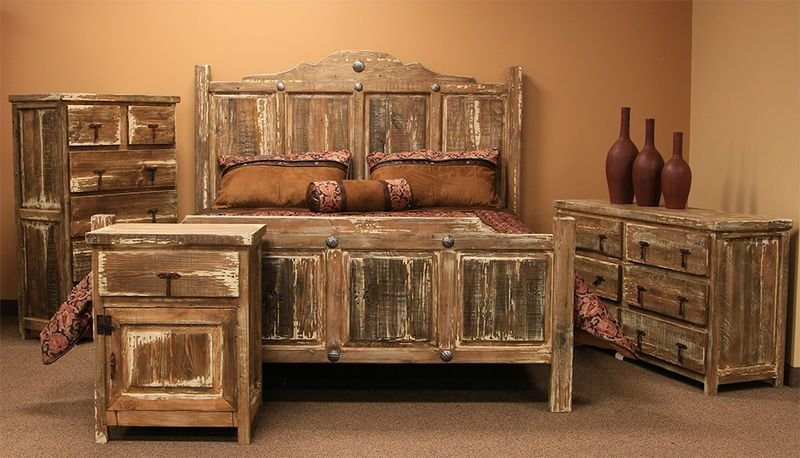 Best Dallas Designer Furniture Minimized White Wash Rustic Bedroom Set With Pictures