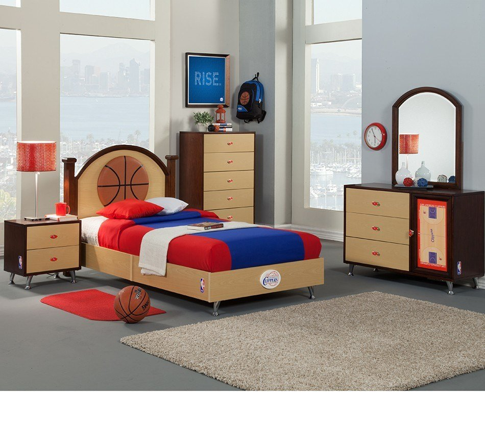 Best Dreamfurniture Com Nba Basketball Los Angeles Clippers With Pictures