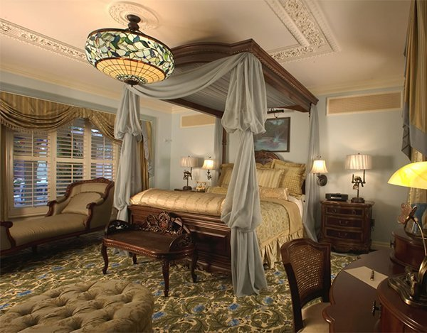 Best A Master Bedroom Designed In A Victorian Style With Pictures