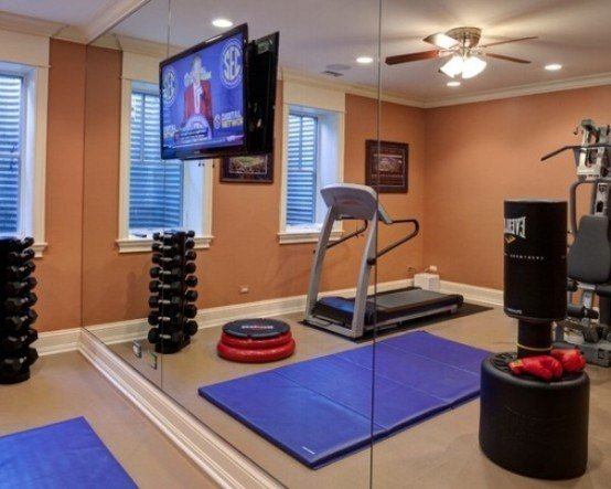 Best 58 Well Equipped Home Gym Design Ideas Digsdigs With Pictures