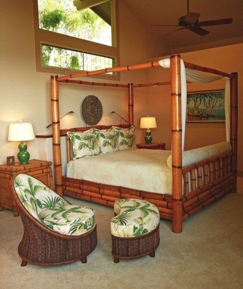 Best 39 Bright Tropical Bedroom Designs Digsdigs With Pictures