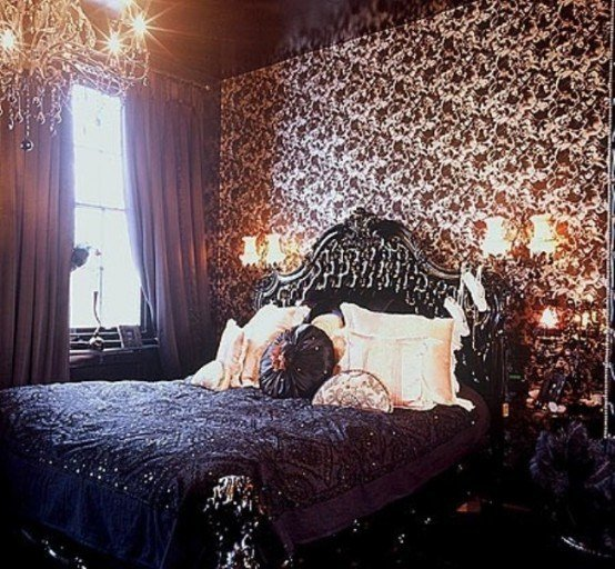 Best 26 Impressive Gothic Bedroom Design Ideas Digsdigs With Pictures