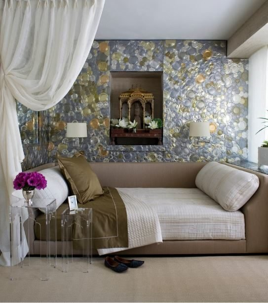 Best Futuristic And Luxurious Silver Gold Bedroom Ideas With Pictures