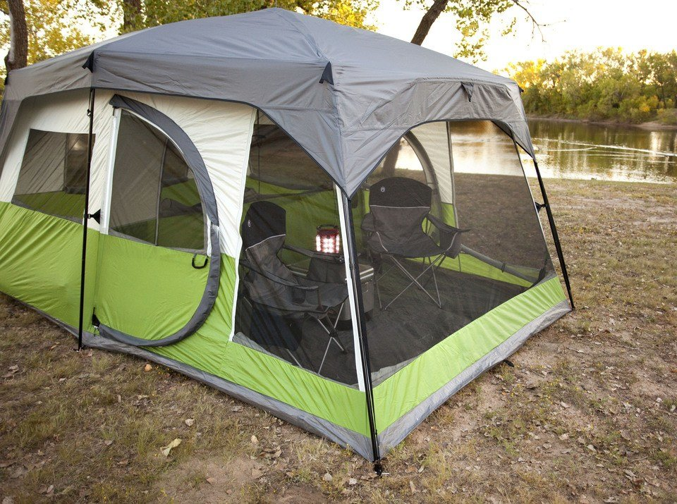 Best Cabin Tent With Screen Porch Sc 1 St Kmart With Pictures