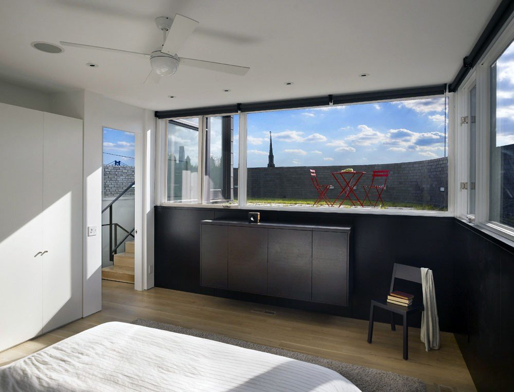 Best Bedroom Split Level House In Philadelphia By Qb Design With Pictures