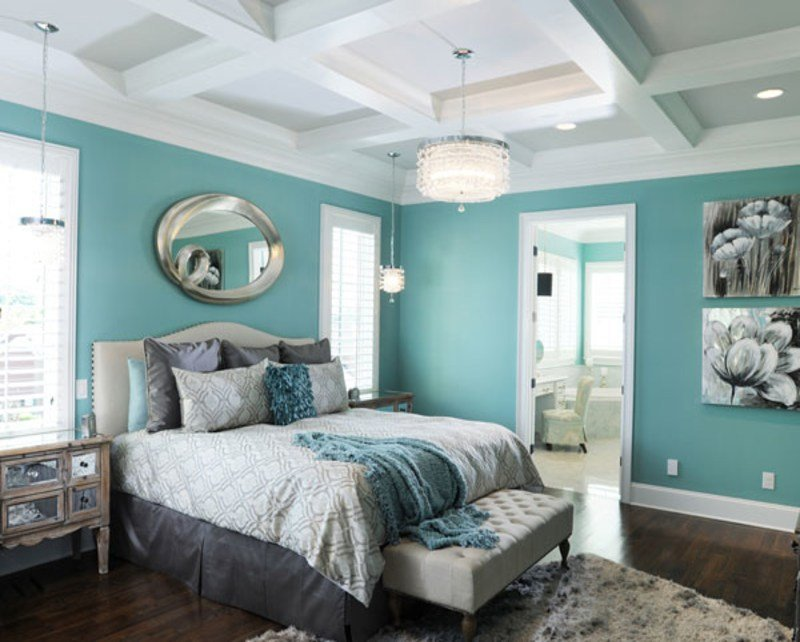 Best Blue Master Bedroom Decorating Ideas Gray Bedroom With Pictures