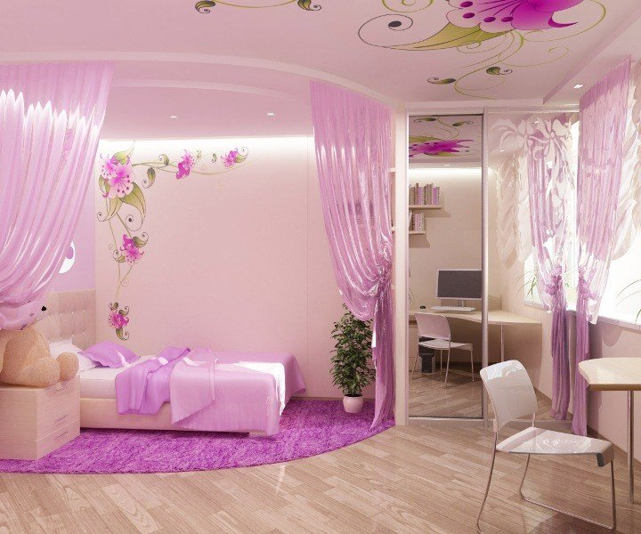 Best Pictures In Bedroom Pink Girls Bedroom Decorating Ideas With Pictures