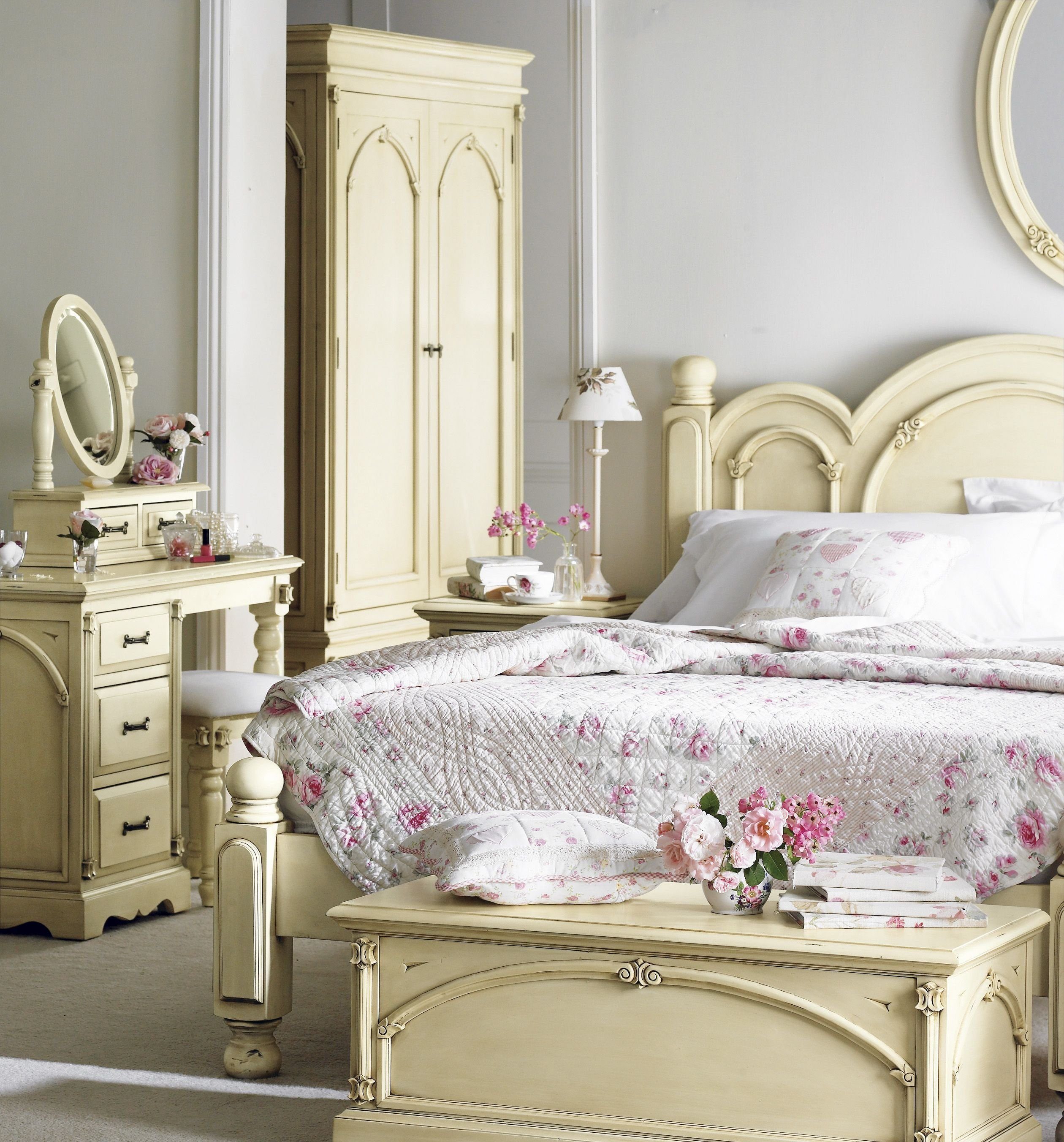 Best Country Chic Bedroom Ideas Shabby Chic Girls Bedroom With Pictures