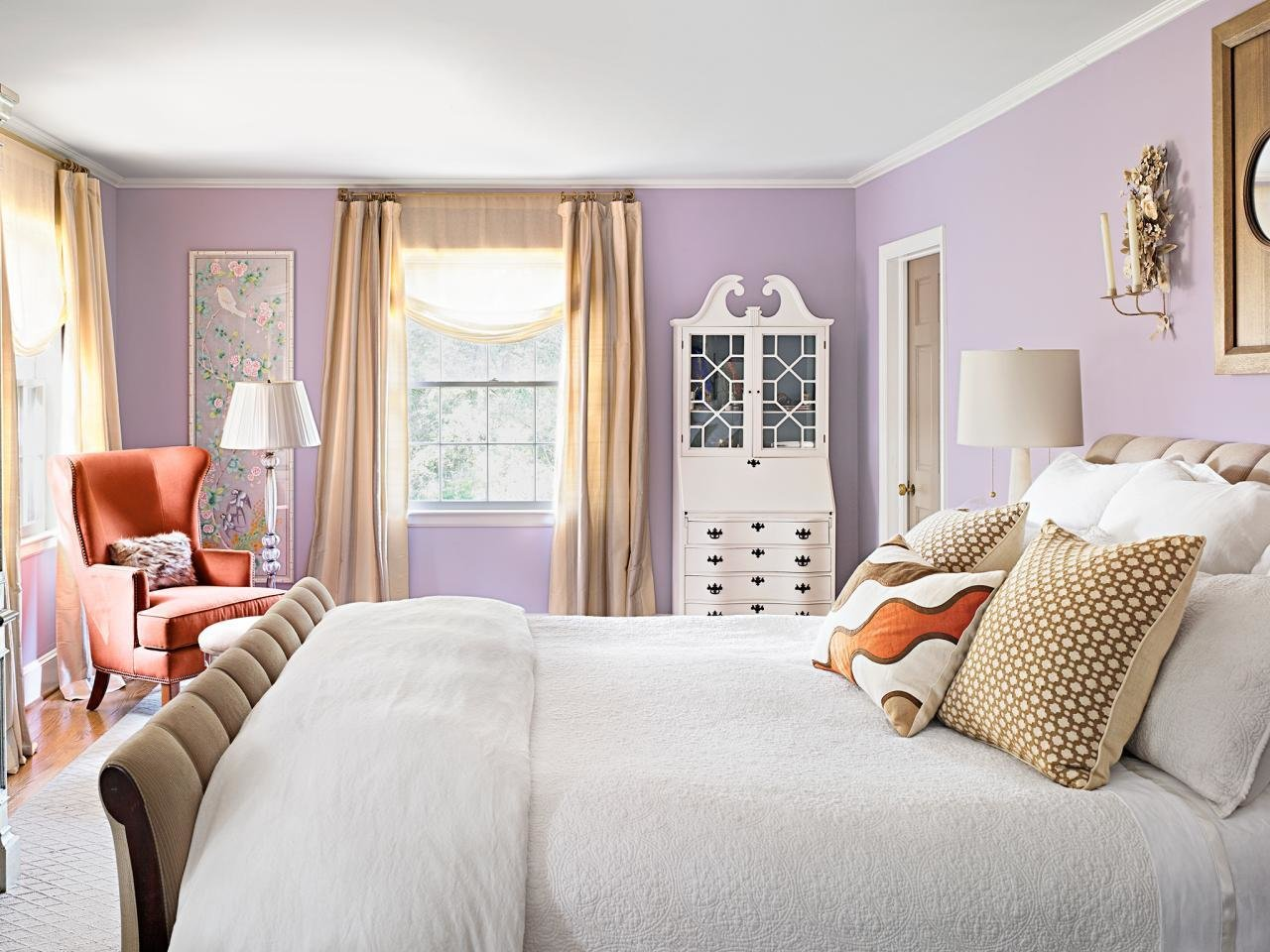 Best Royal Blue Painted Bed Room Blue Bedroom Color Ideas Blue With Pictures