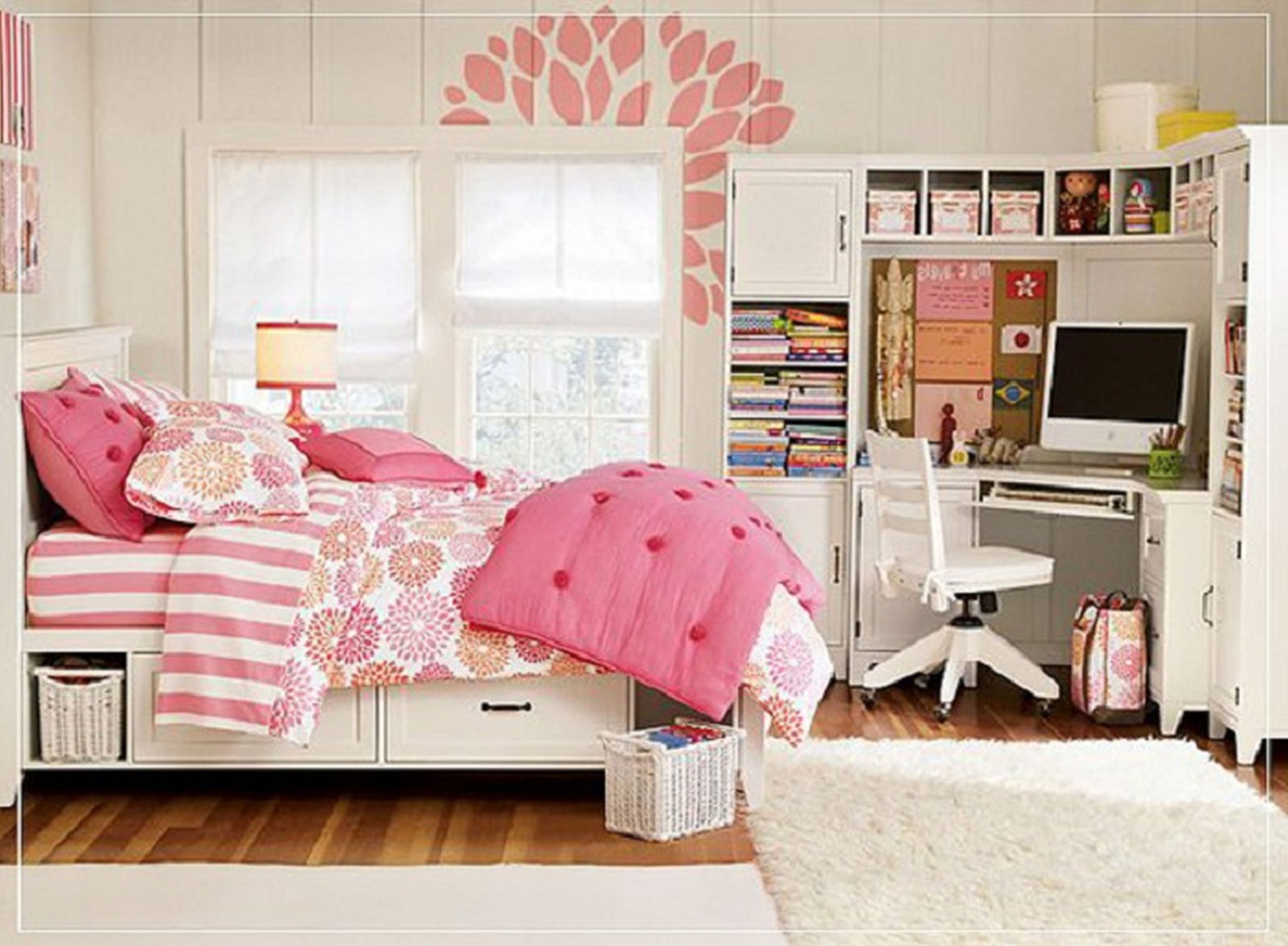 Best Cute Decorating Ideas For Bedrooms Cute Bedroom Designs For Girls Cute Bedroom Designs Home With Pictures