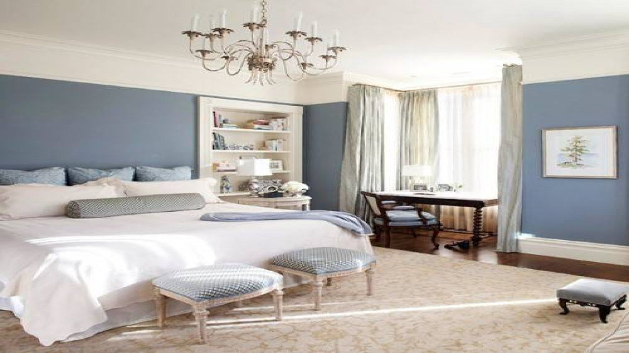 Best Yellow And Gray Kitchen Accessories Master Bedroom Blue Walls Bedroom Blue Gray Paint Colors With Pictures