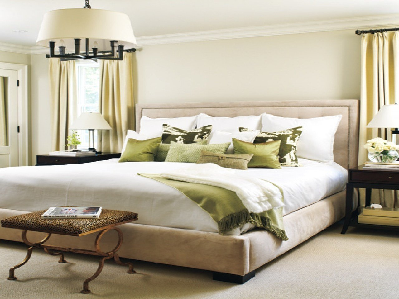 Best Beautiful Bedrooms Images Bedrooms Neutral With Pops Of With Pictures