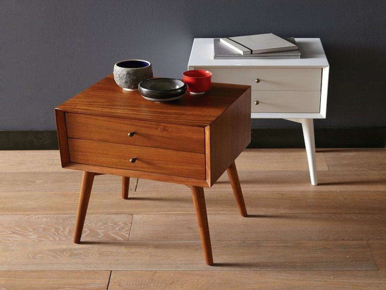 Best Modern Bedside Tables Night Stand West Elm Mid Century With Pictures