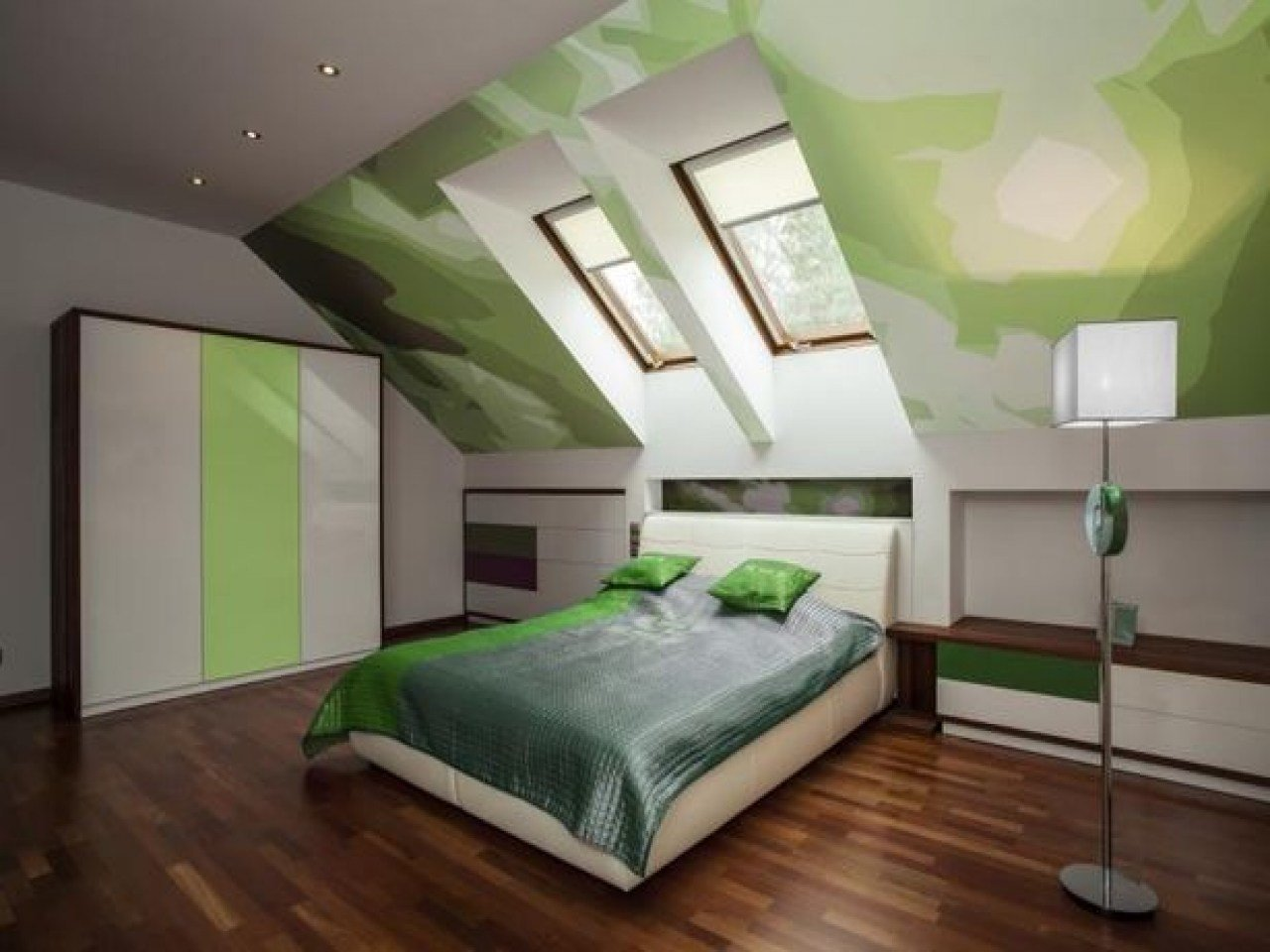 Best A Frame Bedroom Ideas Bedroom With Slanted Ceiling With Pictures