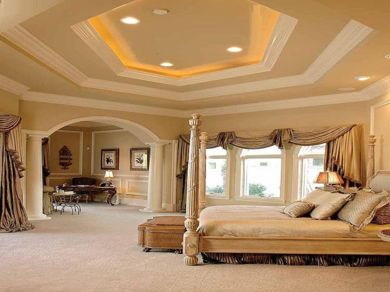 Best Awesome Bedroom Furniture Crown Molding Styles Master With Pictures