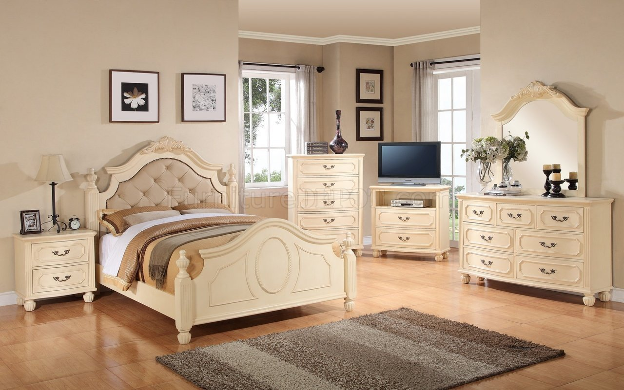 Best G8090A 6Pc Bedroom Set In Beige By Glory Furniture With Pictures