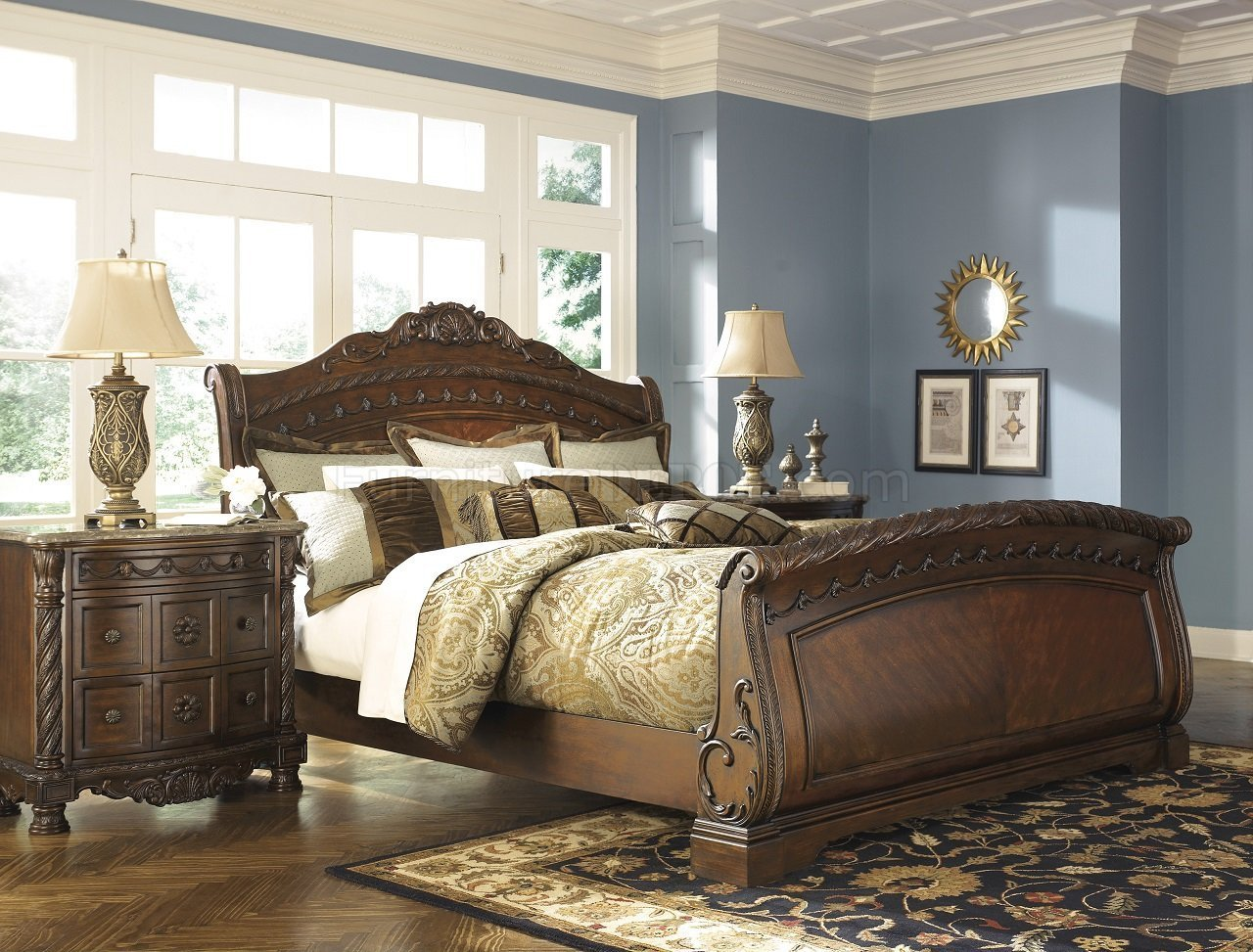 Best North Shore Bedroom B553 S Dark Brown By Ashley Furniture With Pictures