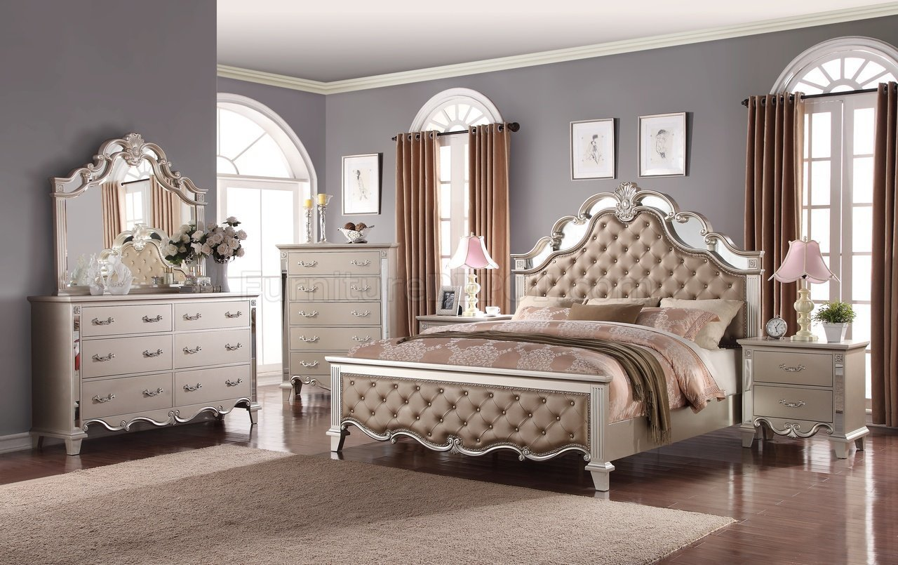 Best Sonia Traditional 5Pc Bedroom Set W Options With Pictures