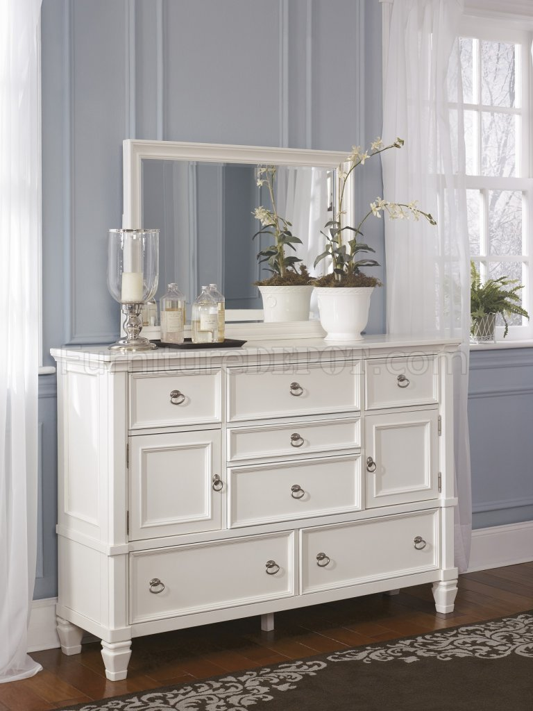 Best Prentice 5Pc Bedroom Set B672 In White By Ashley Furniture With Pictures