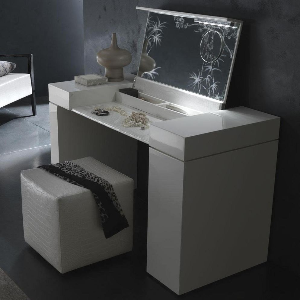 Best Nightfly White Dressing Table Bedroom Vanities With Pictures