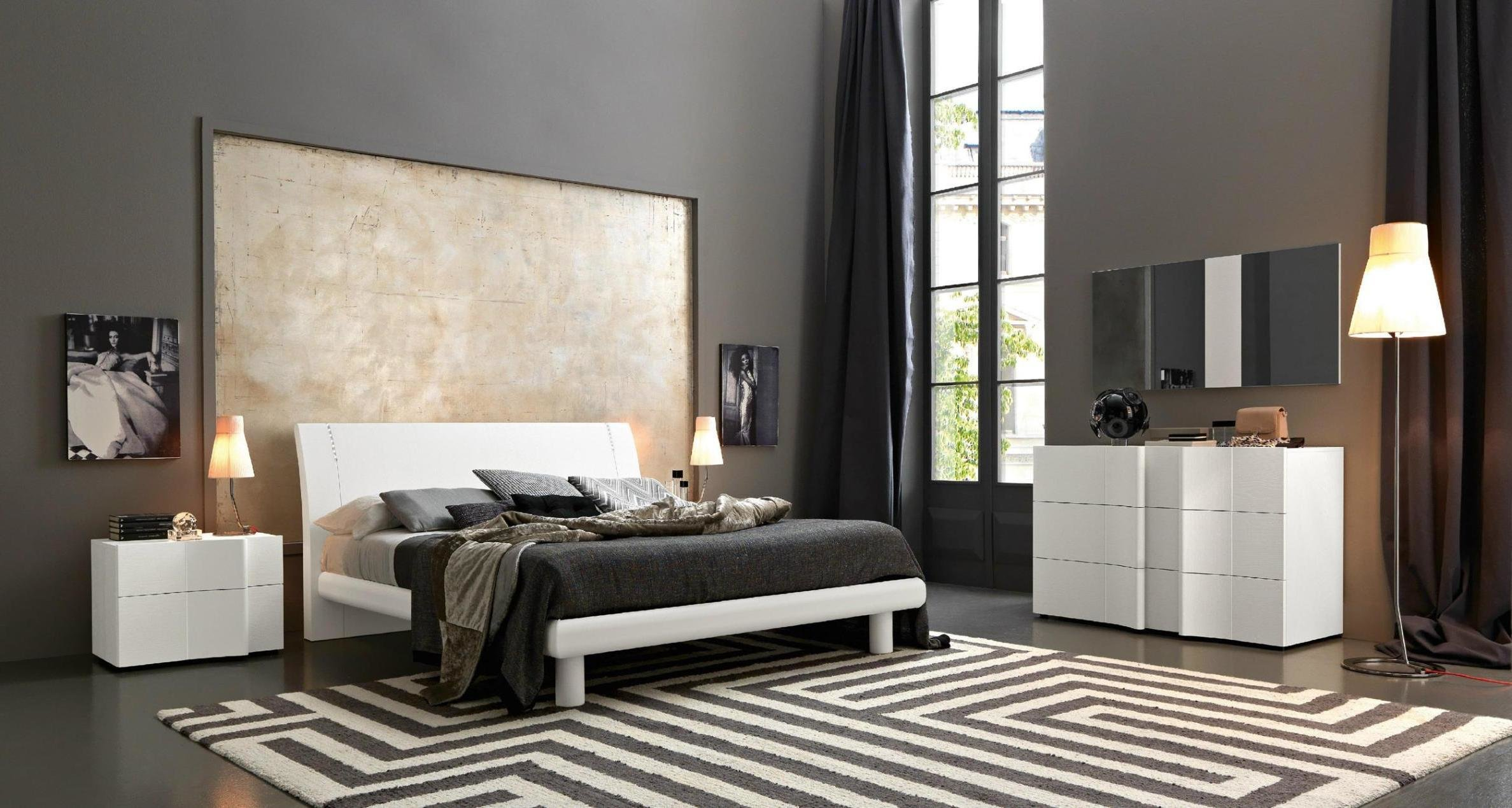 Best Bedroom Design Black And White Master Bedrooms With White With Pictures